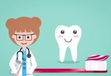 Зуб, доктор и паста